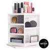 Shelas Versatile Rotating Cosmetic Organizer Hvid