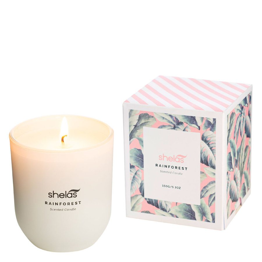 Shelas Scented Candle Rainforest 150 g