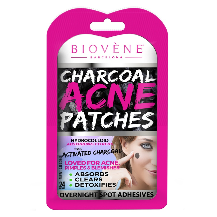 Biovène Charcoal Acne Patches 24 stk