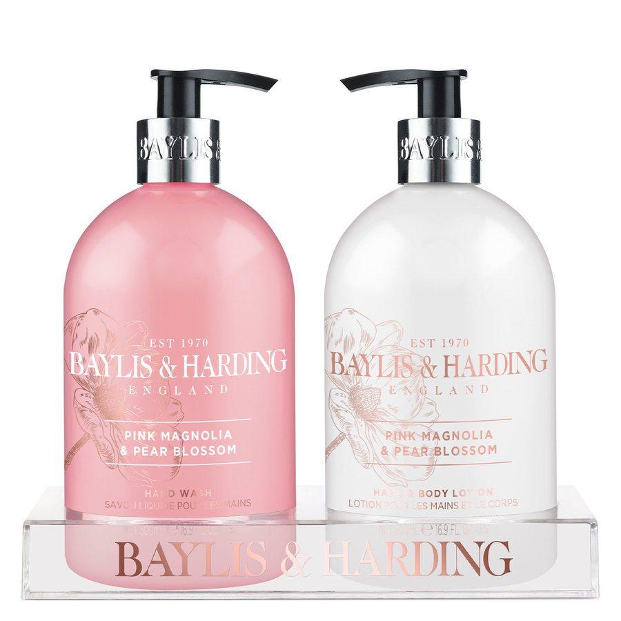 Baylis & Harding Pink Magnolia & Pear Blossom 2 Bottle Gavesæt