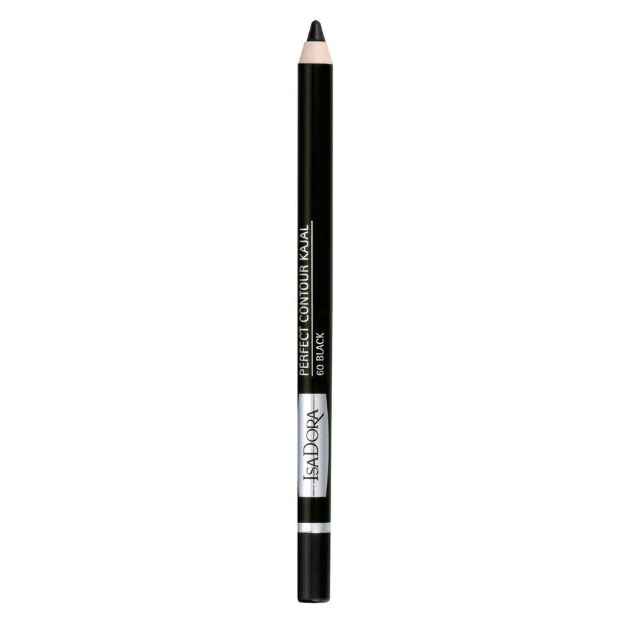 IsaDora Perfect Contour Kajal 60 Black 1,3 g