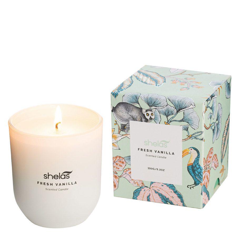 Shelas Scented Candle Fresh Vanilla 150 g