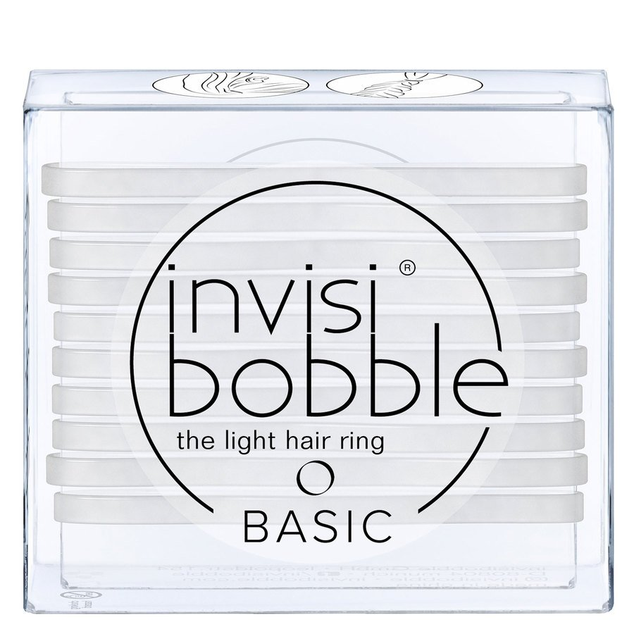 Invisibobble Basic Crystal Clear 10 pcs
