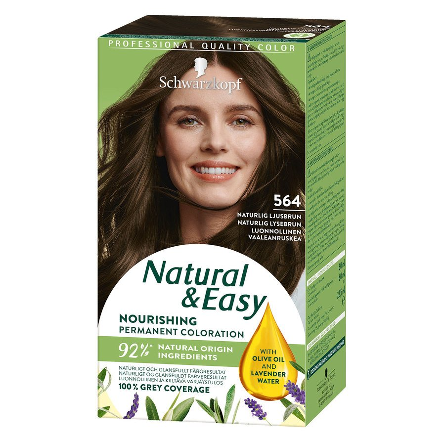 Schwarzkopf Natural & Easy 564 Natural Light Brown