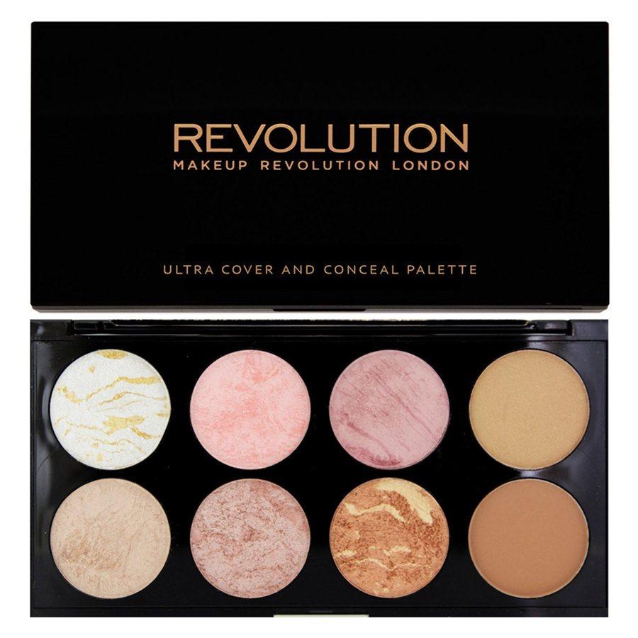 Makeup Revolution Blush Palette Golden Sugar