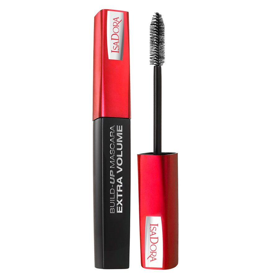 IsaDora Build Up Mascara Extra Volume Super Black 12 ml