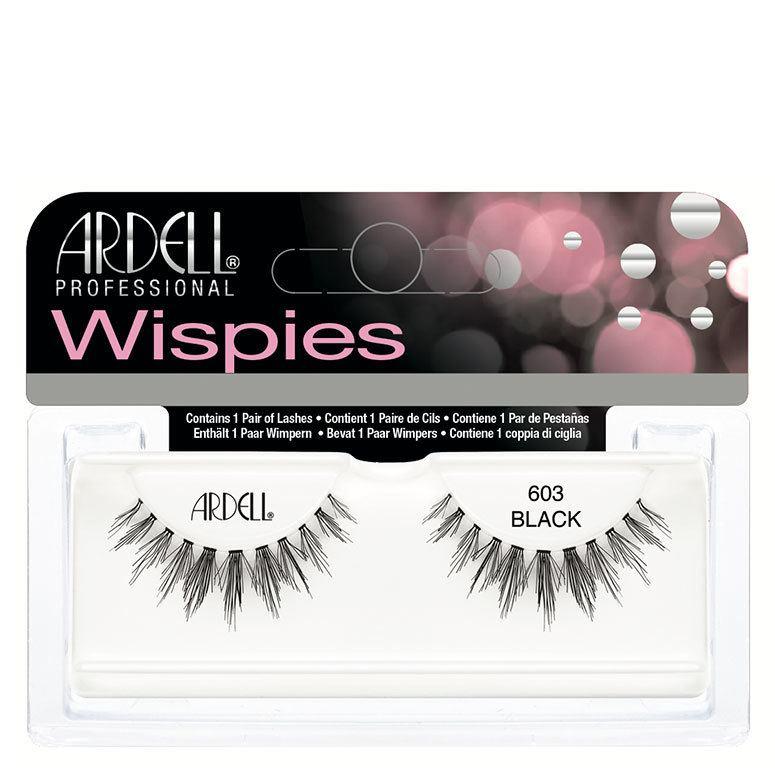 Ardell Wispies-603 Black+Glue