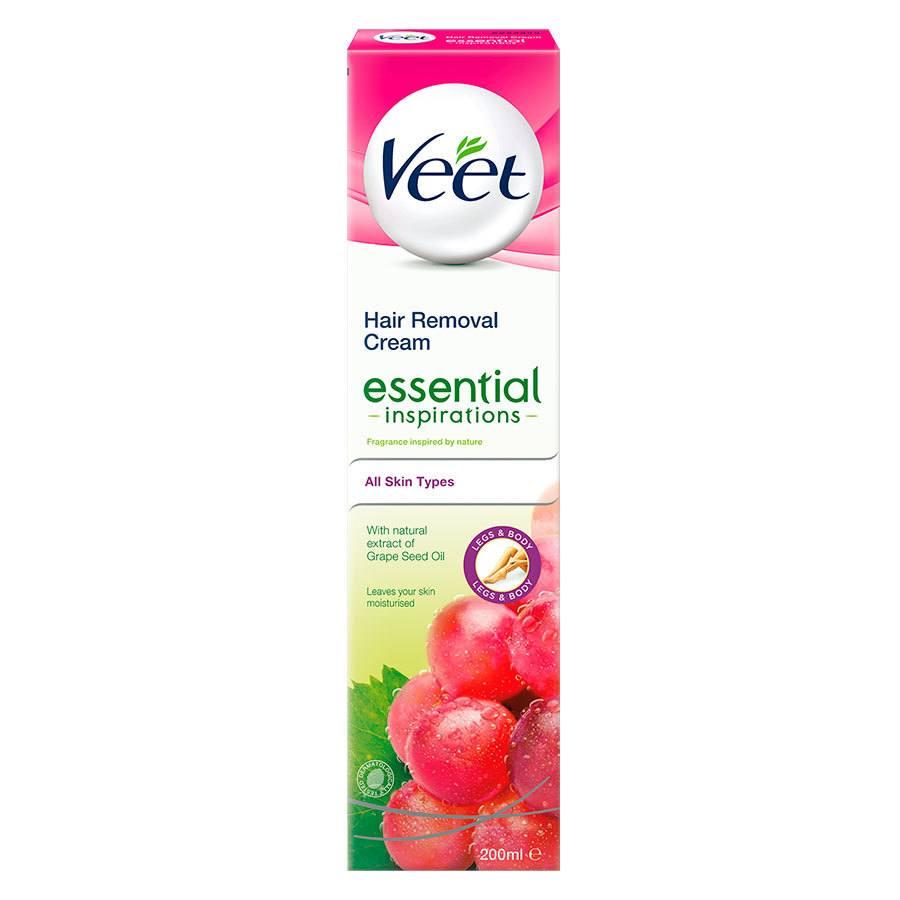 Veet Essential Inspirations Hair Removal Cream 200 ml