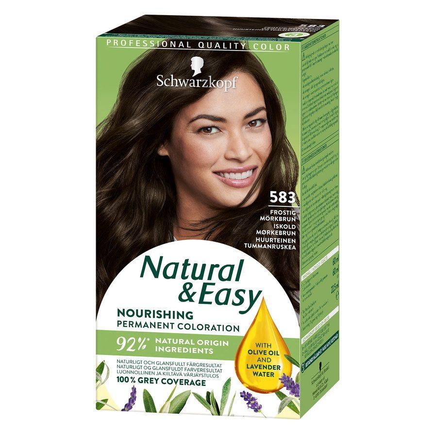Schwarzkopf Natural & Easy 583 Icy Dark Brown