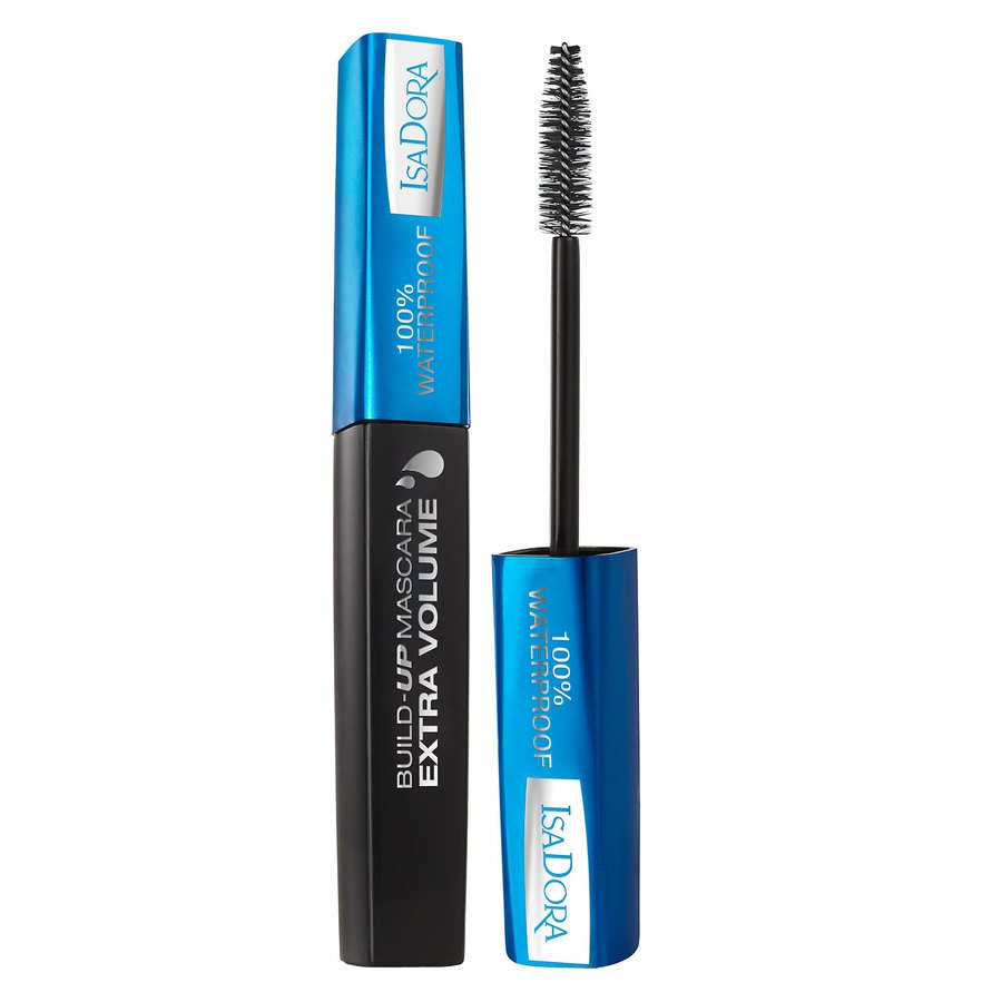 IsaDora Build-Up Mascara Extra Volume 100% WaterProof 12 ml