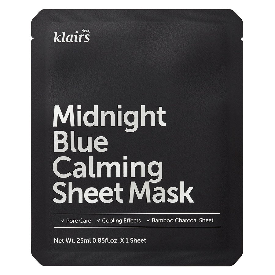 Klairs Midnight Blue Calming Sheet Mask 25 ml