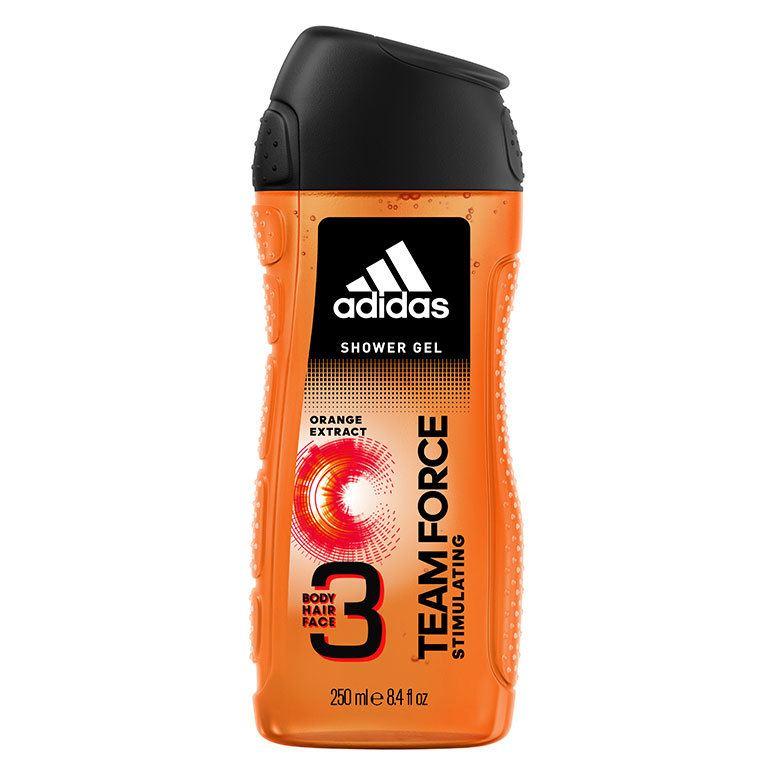 Adidas Team Force 3in1 Shower Gel 250 ml