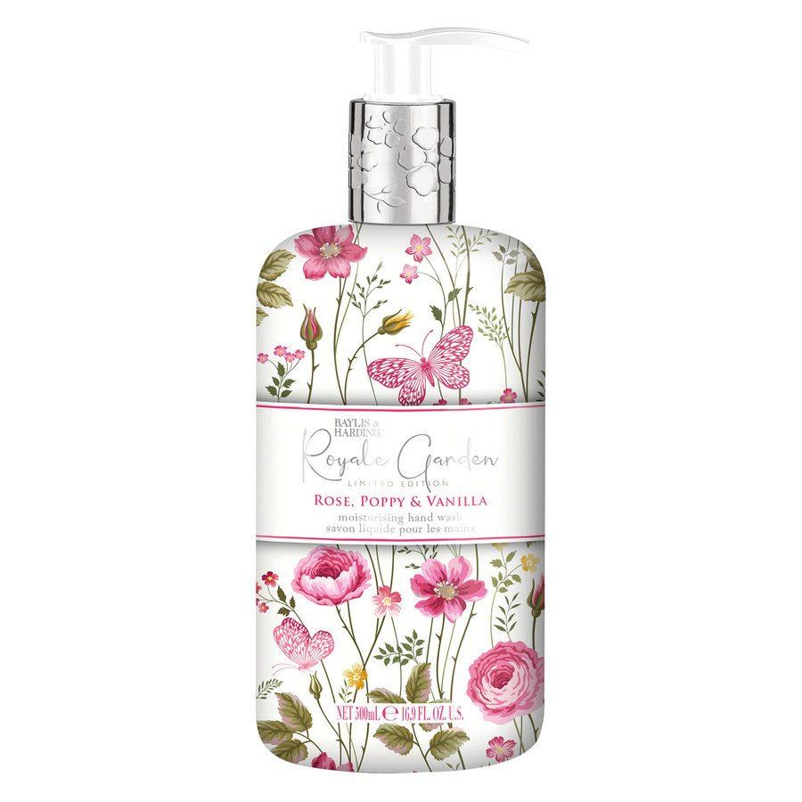 Baylis & Harding Royal Garden Rose, Poppy & Vanilla Hand Wash 500 ml