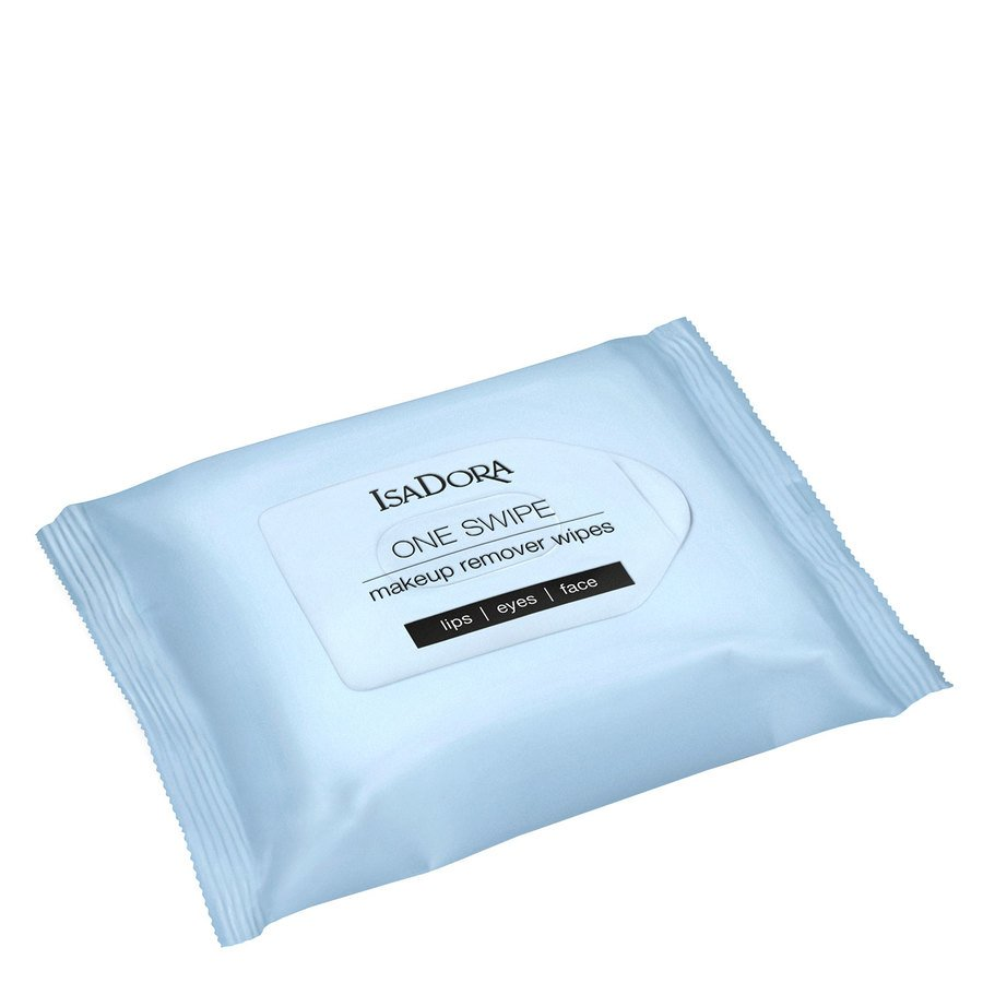 IsaDora One Swipe Makeup Remover Wipes 25 pcs